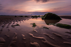 Ripples (A Crowe Photography) Tags: sun beach water wales sunsets northwales welshlandscape welshflickrcymru welshphotographer welshphotography northwalesdailypost