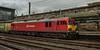 Red box (Blaydon52C) Tags: station train rail railway loco trains db locomotive boxes railways carlisle freight britishrail locomotion locomotives dbs intermodal class92 dbschenker 92031