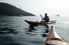 Kayak Noss Mayo 4 (chris-parker) Tags: river kayak paddle canoe devon kayaking mayo tamar calstock wembury noss