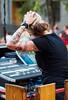 music (Macskafaraok) Tags: music girl tattoo stage budapest olympus hang oly lány ep5 tetoválás kobuci tetovált
