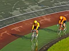 Afternoon At The Track, Nara, Japan. (kinkicycle.com) Tags: bicycle sport japan japanese cycling track bicycles fixed fixedgear nara keirin piste trackcycling