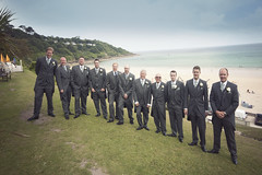 Simon & Rebbeca's Wedding (DavidEmery) Tags: uk wedding summer england beach hotel cornwall day britain august stives carbisbay