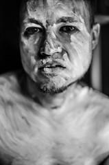 schwarz weiss (Fo xy) Tags: white black nikon zombie blacklight mann weiss schwarz anders mensch schwarzlicht besonders d7000
