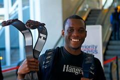 Blake Leeper, Paralympic hopeful (JP Theberge) Tags: art haiti amputees challengedathletes