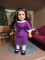 Another Front View (scarlett1854) Tags: clothing doll purple rebecca collection 1914 meet rubin beforever