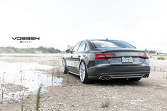 2015 Audi S8 - Vossen VFS1 - Silver Brushed (VossenWheels) Tags: flow technology wheels deep series form vf concave vossen audiwheels s8wheels vfs1 audia8wheels rs8wheels a8wheels audiaftermarketwheels audis8wheels audirs8wheels audia8aftermarketwheels audis8aftermarketwheels audirs8aftermarketwheels