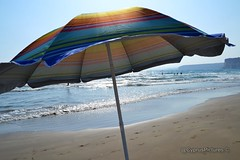 Curium beach, Cyprus (@CyprusPictures) Tags: beach sand peace cyprus umbrellas beachumbrella curiumbeach cypruspictures kourionbeach thulbornchapmanphotography