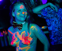 Katface_Tiberino (11 of 38) (Zamzuki Digital) Tags: girls party glow dancing bodypaint exotic blacklight facepaint bodyart handsup dancinggirls museumparty tiberino glowpaint katface td2bd zamzuki zamzukidigital