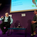 George R R Martin talks to Stewart Kelly at the Edinburgh International Book Festival