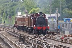 Chalfont & Latimer (5) (bernardf) Tags: londonunderground metropolitanline chalfontlatimer metropolitanrailway l150 ltmuseum steamonthemet steamontheunderground metropolitan1 chesham125