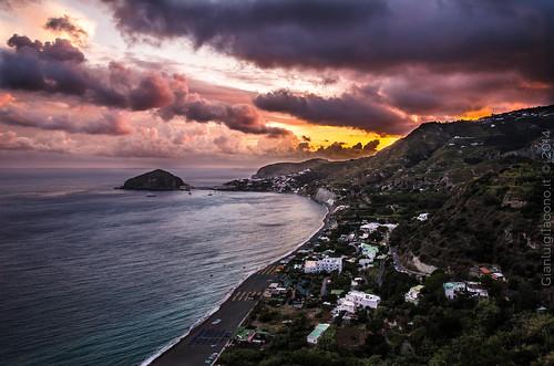 Una luce stupenda ai Maronti - Ischia 2014