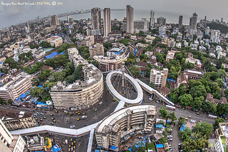 Skywalk, Nana Chowk and our beautiful Mumbai, Maharashtra - India @ Humayunn Niaz Ahmed Peerzaada