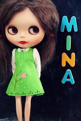 Mina back to school
