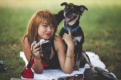 (JayC_1992) Tags: portrait canon puppy hawaii paradise honolulu f2 fullframe aloha wideopen 135l 5d2 canon5d2