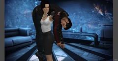 Date Night (Jon_Waggoner) Tags: original art up 3d ashley steve diana joker knocked characters tied samantha mass miranda cortez effect normandy carry peril shepard unconscious lawson carried kidnapped daz chloroform koed kaidan abducted allers shenko traynor chloroformed femshep