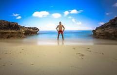 SUMMER (Rober1000x) Tags: longexposure sea beach self photographer miami playa plage brickell selfie 2014 downtownmiami rober1000x