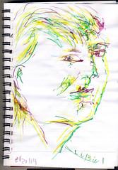 2014.08.21 50 Views of Maureen in 25 Days (d3v5) (Julia L. Kay) Tags: sanfrancisco party portrait woman selfportrait art face female self sketch san francisco artist arte julia kunst autoretrato kay daily dessin peinture portraiture 365 everyday dibujo dpp artista artiste lefthanded künstler portraitparty ambidextrous righthanded neocolorii watersoluble wronghanded nondominanthand inktense juliakay jkpp julialkay juliakaysportraitparty dailyportraitproject jkppfeed