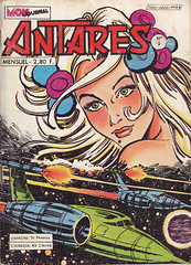 Antares 09 (micky the pixel) Tags: sf comics comic goddess raumschiff sciencefiction spaceship heft antares monjournal