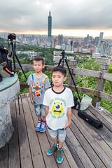 IMG_4614 (JIMI_lin) Tags: sunset 101 taipei 信義區 觀音山 大冒險 虎山峰