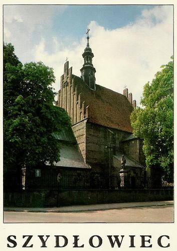 kościół św. Zygmunta, koniec lat 90-tych. (fot. fotopolska.eu)