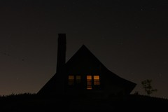 143/365: Home under the stars (Rrrodrigo) Tags: chimney sky house home night project365 astrometrydotnet:status=solved project3652014 astrometrydotnet:id=nova1603219