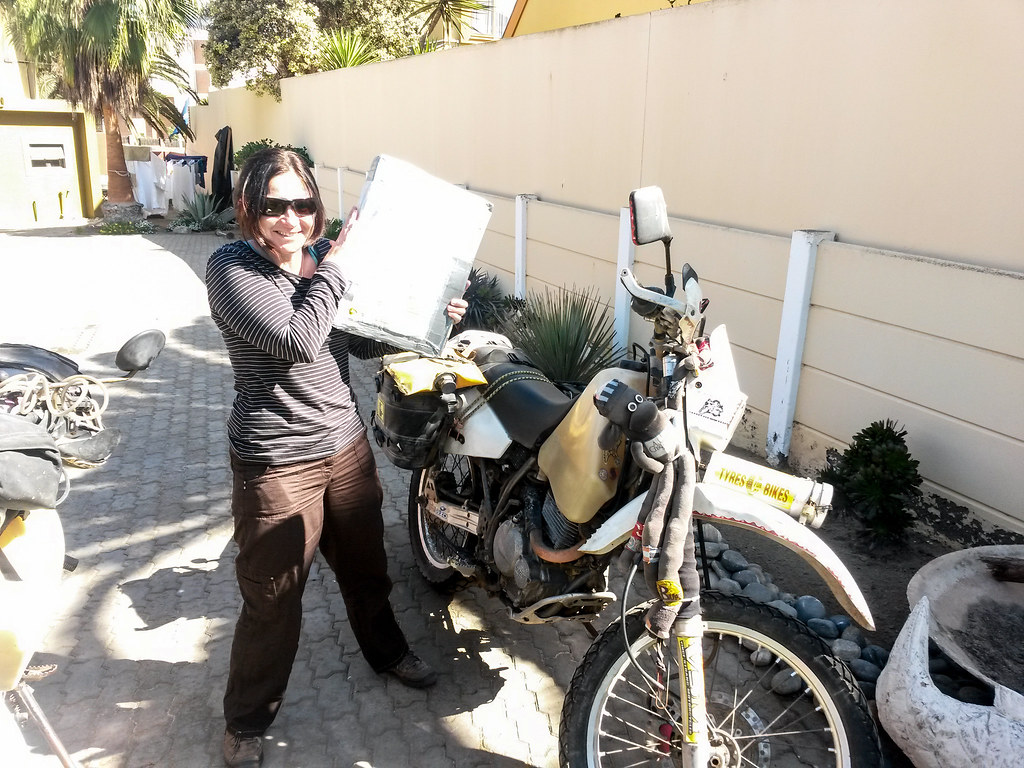 My Package Arrived, Swakopmund, Namibia