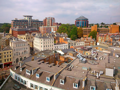 Bournemouth Town Centre - from St Peter's Church Tower