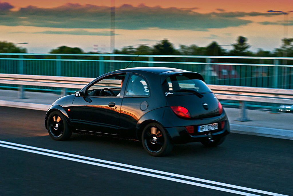 Sportka Black Platinum Photo Tags Sunset Wallpaper Sun Motion Black Cars Ford Car