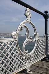 Old Harry Rocks Wheel (Matty Ring) Tags: old sea cliff wheel pier rocks harry dorset railing purbeck
