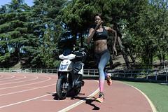 KYMCO Y BOKESA (KYMCO Espaa) Tags: madrid scooter moto deporte scooters ocio viajar motos atletismo kymco entrenamiento airelibre superacin innovacin entrenar movilidad movilidadurbana deportividad moto125 agilitycity bokesa carnb marcaplus 125