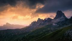 Drowsy Mountains (@hipydeus) Tags: mountains landscape dolomites dolomiti sunset vast mighty