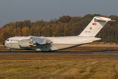 KAF342 Kuwait Air Force Boeing C-17A Globemaster III (EaZyBnA) Tags: autofocus cgn klnbonn konradadenauer kln cologne germany kuwait kaf c17a boeingc17aglobemasteriii globemaster ngc kaf342 kuwaitairforce nrw