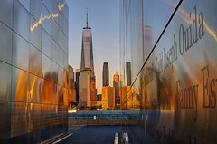 Sunset... Empty Sky 911 Memorial... Liberty State Park, Jersey City, New Jersey... (Louie Forte) Tags: hdr tonemapped emptysky911memorial libertystatepark jerseycity newjersey multiexposure photomatixpro