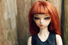 256/365 Rheia (AluminumDryad) Tags: fairyland minifee mnf rheia msd slimmini bjd balljointeddoll doll resin forsale headonly