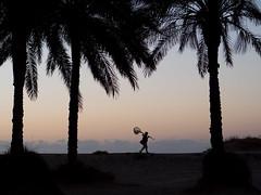 Sunrise fisherman (enmrd) Tags: amarilla nocticron leica micro43 leica425mm gx8 panasonicgx8 lumixgx8 beach fisherman