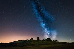 Milky Way Galaxy (frieps) Tags: adlersklippen devilswall eaglecrags germany harz mittelsteine sachsenanhalt saxonyanhalt teufelsmauer weddersleben astro astrophotography colourful cosmos dark galaxy landscape light night nightphotograph rockwall sky space stars universe