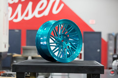 Vossen Forged- LC Series LC-105T - Deco Teal - 48932 -  Vossen Wheels 2016 -  1004 (VossenWheels) Tags: brushed decoteal forged forgedwheels lc lcseries lc105t madeinmiami madeinusa vossenforged vossenforgedwheels vossenwheels2016