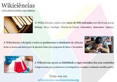 WikiCincias (casadasciencias) Tags: cincias wiki casadascincias enciclopdia biologia geologia fsica qumica matemtica