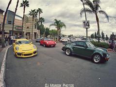 Porsche gang! (dj murdok photos) Tags: djmurdokphotos phaze2 sony alpha a7ii 16mmfisheye losangeles porsche 997 991 911 carrera