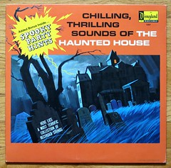 The Chilling, Thrilling Sounds of the Haunted House - a Disneyland Record - 1964 (hmdavid) Tags: vintage halloween disneyland record lp chilling thrilling sounds haunted house mansion 1960s 1964 album