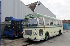 ECW bodied Bristol SUL4A 270KTA at IOW Bus Museum 14 October 2016 (IslandYorkie) Tags: buses busesinthesouthofengland busesontheisleofwight singledeckers bristolbuses bristolsul4a ecwbody 270kta dennisbuses dennisdart duplebody g526vye isleofwightbusmuseum classicbusesbeerwalksweekend2016 busrallies busrallies2016 preservedbuses restoredbuses historicbuses ryde isleofwight westernnational exsouthernvectis