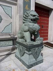 statue (helena.e) Tags: helenae summer sommar vacation semester lga husbil motorhome dragongate kina china kion lejon statue staty