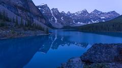 Lac Moraine Blues (Ken Krach Photography) Tags: lakemoraine banffnationalpark