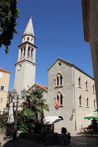 Crkva Svetog Ivana Krstitelja (St. John the Baptist Church), Budva