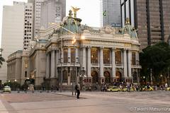 Teatro Municipal (takashi_matsumura) Tags: teatro municipal rio de janeiro brazil brasil sigma 1750mm f28 ex dc os hsm nikon d5300 architecture