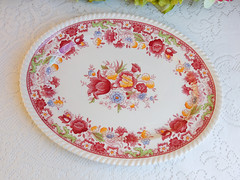 Johnson Brothers Porcelain Serving Platter ~ Winchester ~ Floral (Donna's Collectables) Tags: johnson brothers porcelain serving platter ~ winchester floral thanksgiving christmas