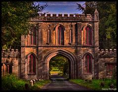 Gate House, Lough Key. (Danny McHugh) Tags: hdr architecture derelict ireland boyle gatehouse gothic roscommon