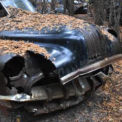 DSC_0355 v2 (collations) Tags: ontario mcleansautowreckers autowreckers wreckers automobiles autos abandoned rockwood derelict junkyards autograveyards carcemeteries