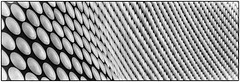 Bullring! (Andy J Newman) Tags: birmingham england unitedkingdom gb dots shape pattrn bullring curve art blackandwhite bandw bw nikon d500 silerefex