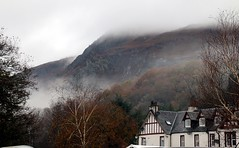 2016 - 13.11.16 Aberfoyle (4) (marie137) Tags: aberfoyle marie137 scotland mist mountain hill town water country